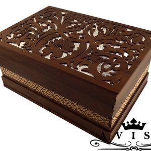 جعبه کادوئی چوبی طرح سنتی