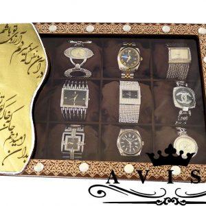 جعبه ساعت چرم