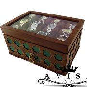 جعبه ساعت کشودار سنتی