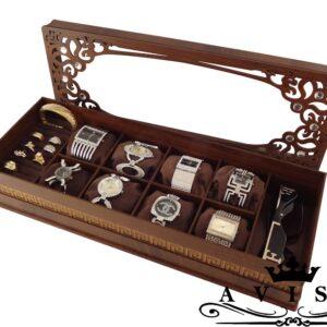 جعبه ساعت عینک